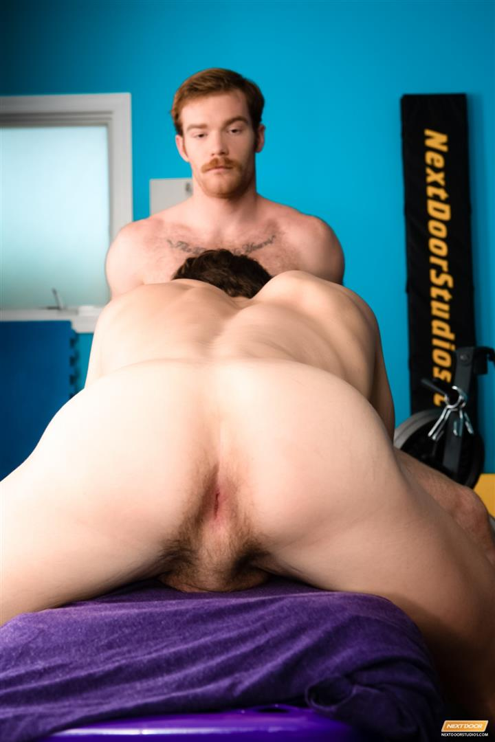Next-Door-World-James-Jamesson-and-Lance-Alexander-muscle-hunk-gets-fucked-at-the-gym-Amateur-Gay-Porn-07 Redhead James Jamesson Fucking Muscle Hunk Lance Alexander