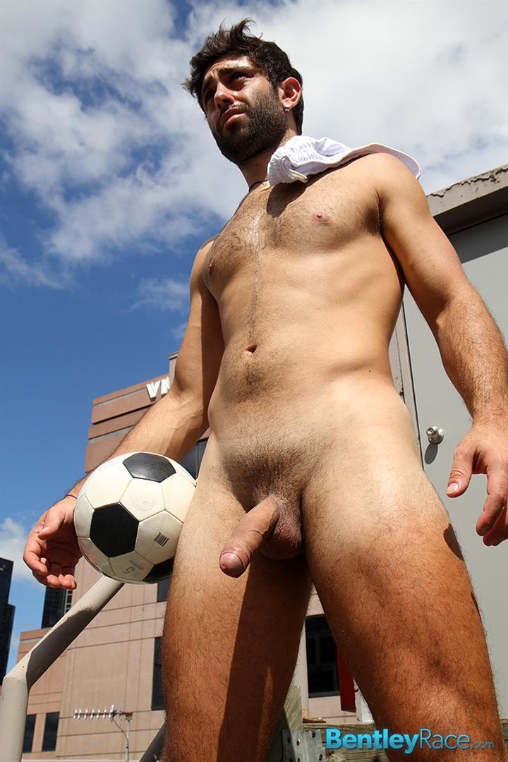 Bentley-Race-Adam-El-Shawar-Middle-Eastern-Soccer-Play-With-A-Huge-Uncut-Cock-Amateur-Gay-Porn-19 Straight Middle Eastern Soccer Player Jerking His Big Uncut Cock