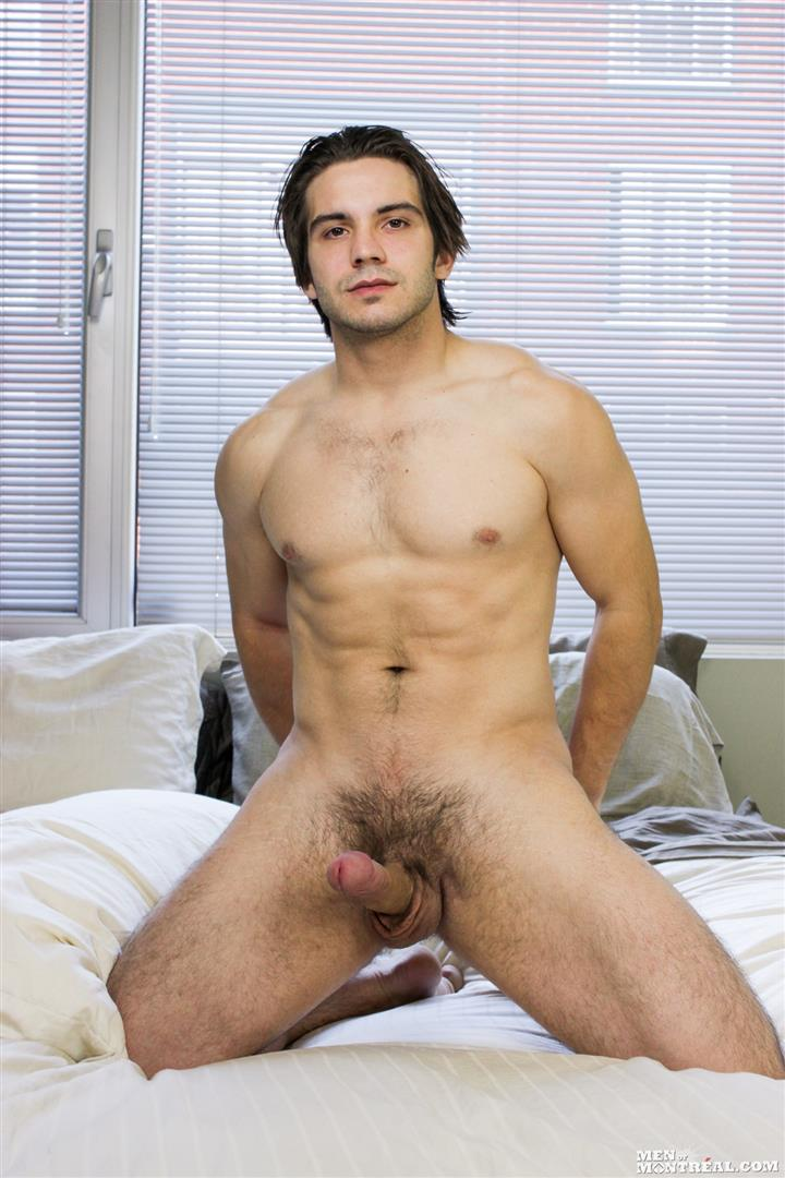 Men-of-Montreal-Mattice-LeRock-Canadian-Muscle-Hunk-Jerking-His-Big-Uncut-Cock-Amateur-Gay-Porn-13 Beefy Canadian Hunk Jerking Off His Big Uncut Cock