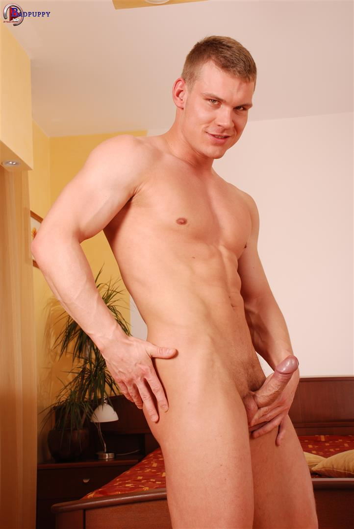 Bad-Puppy-Drago-Lembeck-Muscular-Naked-Czech-Guy-Jerking-Big-Uncut-Cock-Amateur-Gay-Porn-11 Muscular Czech Guy Jerking Off His Big Uncut Cock