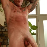 """Butch-Dixon-Big-T-British-Muscle-Daddy-With-A-Big-Uncut-Cock-Amateur-Gay-Porn-22-150x150 British Muscle Daddy Jerking Off His Big 9"""" Uncut Cock"""