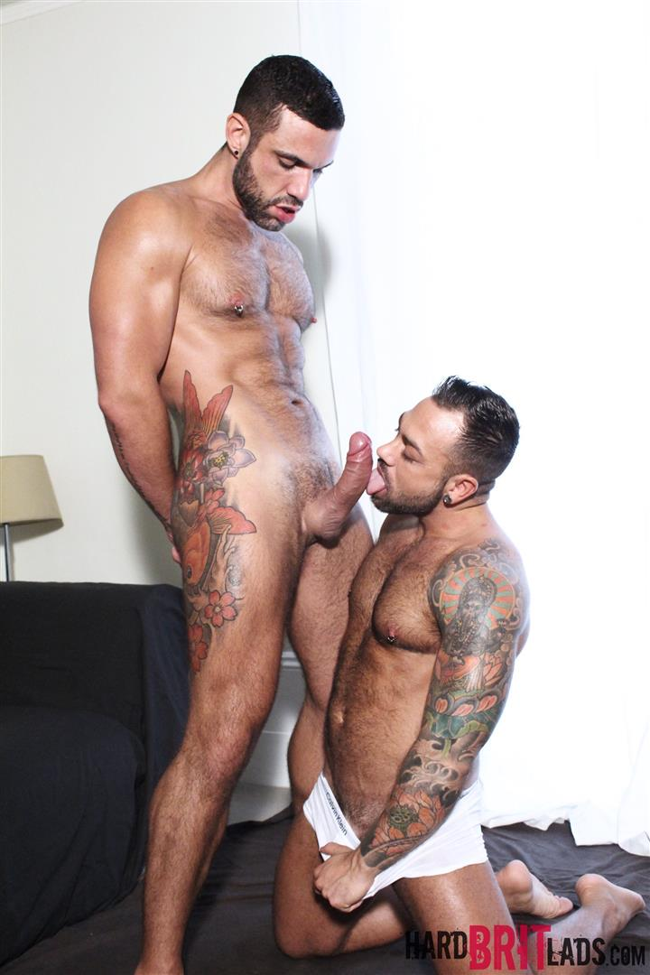 Hard Brit Lads Sergi Rodriguez and Letterio Amadeo Big Uncut Cock Fucking Amateur Gay Porn 05 Hairy British Muscle Hunks Fucking With Their Big Uncut Cocks