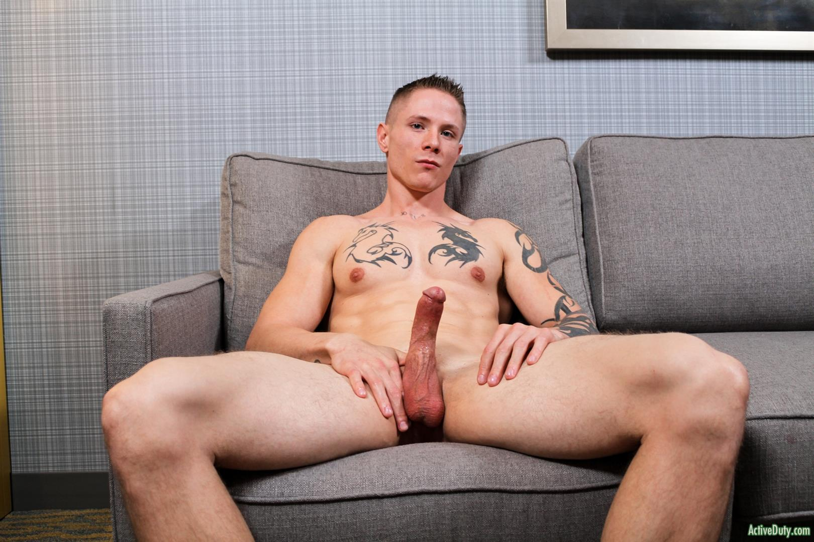 Great Straight Guy Beating Off