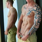 Straight-Off-Base-Shane-Naked-Marine-Jerk-Off-Amateur-Gay-Porn-04-150x150 Muscled Marine Corporal Jerks His Smooth Shaved Cock