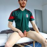 Bentley Race Tomas Kyle Redheaded Jock With A Big Uncut Cock 10 150x150 Ginger Jock Busts Out His Big Uncut Cock And Hairy Balls