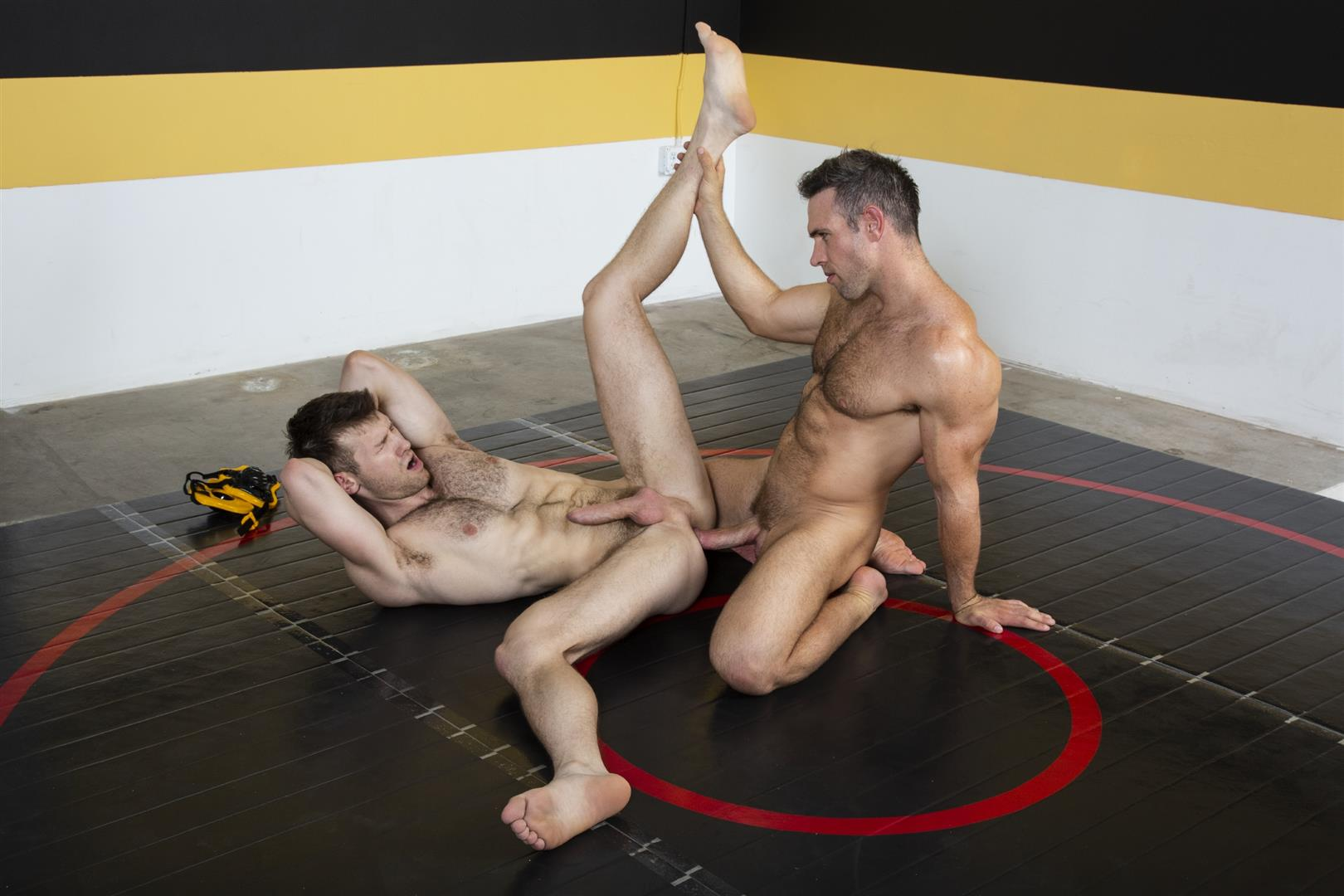 Hot-House-Alex-Mecum-Jacob-Peterson-Bareback-Wrestling-Free-Video-Download-17 Taking My Wrestling Coach's Raw Cock On The Mat